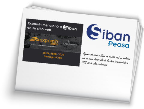 siban mentioned in expomin 2020 spanish