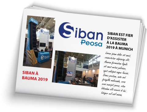 SIBAN AT BAUMA 2019 FRENCH