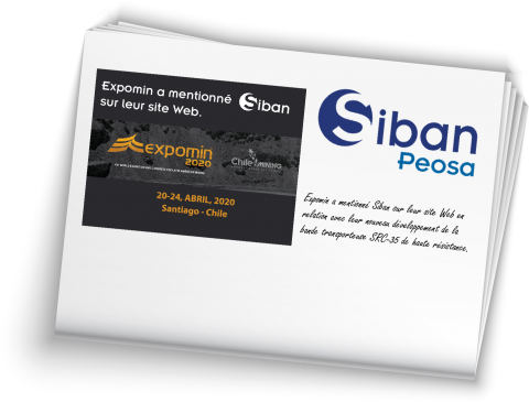 siban mentioned in expomin 2020 French